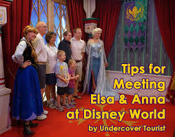 tips meeting elsa anna disney