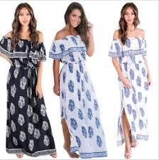 discount vintage women chiffon maxi dresses 2017 vintage women
