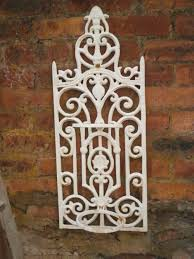 Wrought Iron Wall Planters by Antiques Atlas Vintage French Wrought Iron Wall Hanging Planters