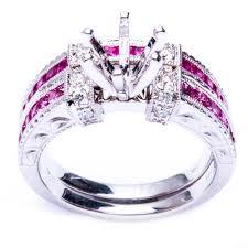 semi mount engagement rings oxford co 14k white gold camilla semi mount engagement