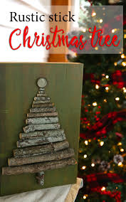 rustic christmas u2014 weekend craft