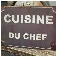 plaque deco cuisine retro plaque deco cuisine du chef décoration rétro cuisine deco cuisine