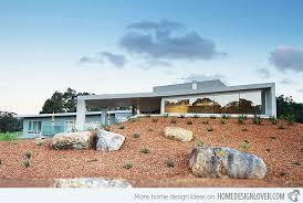 berm residence a house on a pedestal in australia home design lover