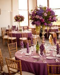 wedding table decorations purple wedding table decorations