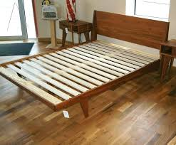 Modern Platform Bed Frames Flat Platform Bed Frame Zen Bed Frame Flat Platform Bed King Size