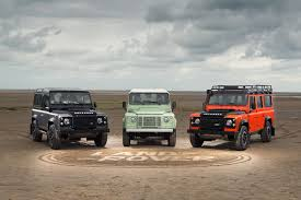 land rover defender 2017 6x6 land rover defender final editions photos digital trends
