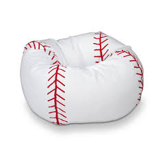baseball chair and ottoman set amazon com baseball bean bag chair 1 kitchen dining