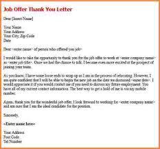 6 thank you letter after job offer registration statement 2017