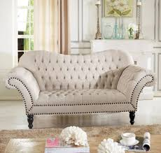 beige sofa and loveseat furniture beige linen tufted sofa loveseat with nailhead trim for