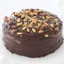 homemade u201csnickers u201d chocolate cake delicious wordflux
