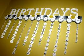 birthday board birthday board from below auburn and blue