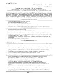 Sample Resume Objectives Pharmacy Technician by Pharmaceutical Sales Rep Resume Resume For Your Job Application