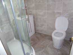 convert bathroom to shower room use all of the floor space