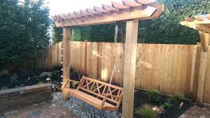 pergolas arbors u0026 swings u2013 issaquah landscaping