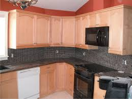 light kitchen cabinets dark granite nice home design
