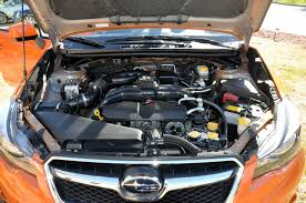 gray subaru crosstrek subaru xv crosstrek front engine bay road bike news reviews