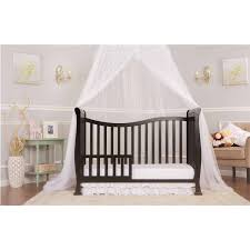 Baby S Dream Convertible Crib by Dream On Me Violet 7 In 1 Convertible Life Style Crib White Black