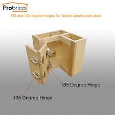 corner kitchen cabinet hinges details about probrico 135 165º kitchen cabinet hinge soft corner folded cupboard hinge
