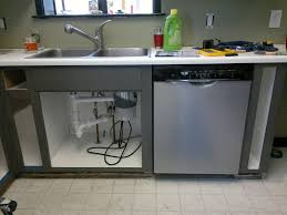 installing a dishwasher in existing cabinets my stupid house installing a full size dishwasher in old shallow