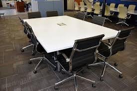 White Conference Table Knoll White Laminate Conference Table U2013 Office Furniture Connection