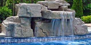 diy pool waterfall swimming pool waterfall kits ricorock inc