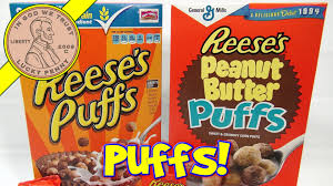 halloween reese s reese u0027s peanut butter puffs 1994 retro cereal box tasty youtube