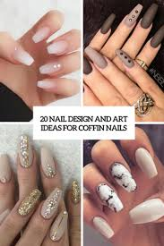 nail designe 20 nail design and ideas for coffin nails styleoholic