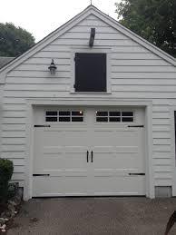 Buffalo Overhead Door by Haas Model 660 Steel Carriage House Style Garage Door In White