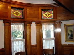 stained glass home decor file simmons bond house diningroom stained glass window jpg