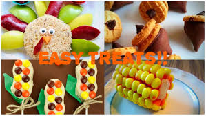 easy diy no bake thanksgiving treat ideas great for