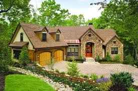 prominent house plans with walkout basement walk out homes