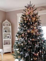 tinsel christmas tree christmas tree with vintage ornaments and tinsel eli