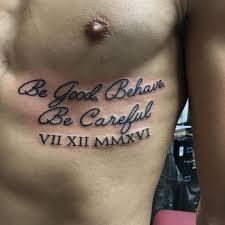 date of birth tattoo 70 best roman numeral tattoo designs u0026 meanings be creative 2017