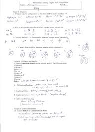 chemistry learning targets 8 10 study guide answer key page 1 jpg