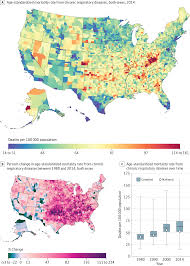 Seattle Washington Zip Code Map by Us County Level Trends In Mortality Rates For Major Causes Of