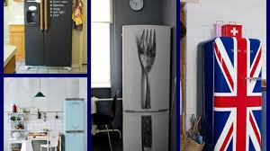 fridge makeover ideas diy kitchen makeovers on a budget youtube