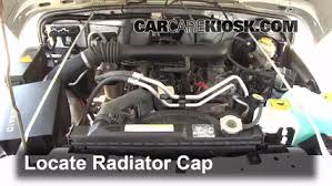 1999 jeep grand radiator replacement coolant flush how to jeep wrangler 1997 2006 2004 jeep