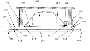 patent us20050115861 devices for storage between ceiling joists