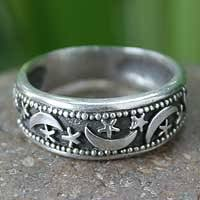 sterling rings images Sterling silver rings unique silver ring gallery at novica jpg