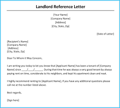 Reference Letter rental reference letter 9 sles formats for prefessionals