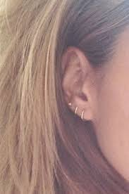small hoop earrings for cartilage miley cyrus cartilage hoop earrings beautify themselves with