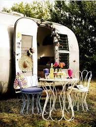 caravan decoration u2013 set the caravan with a retro touch interior