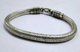sterling silver snake chain bracelet images Indian snake chain bracelets collection on ebay jpg
