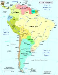 a map of south america south america map