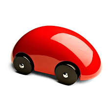 wooden car playsam streamliner classic wooden car red toys