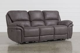 Power Reclining Sofa And Loveseat by Norfolk Power Reclining Sofa Living Spaces