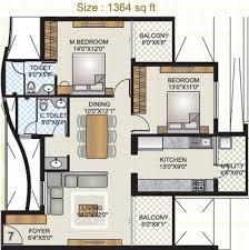 Gateway Floor Plan by Mahabaleshwara Classique Gateway In Kankanady Mangalore Price