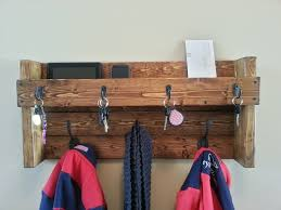 hanging mail and coat organizer