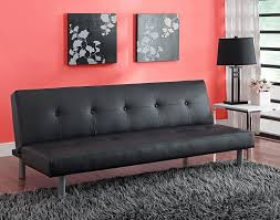 living room tufted futon leather futon sofa bed leather