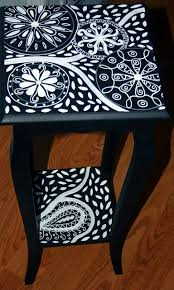 Painted Accent Table Best 25 Black Accent Table Ideas On Pinterest White Accent